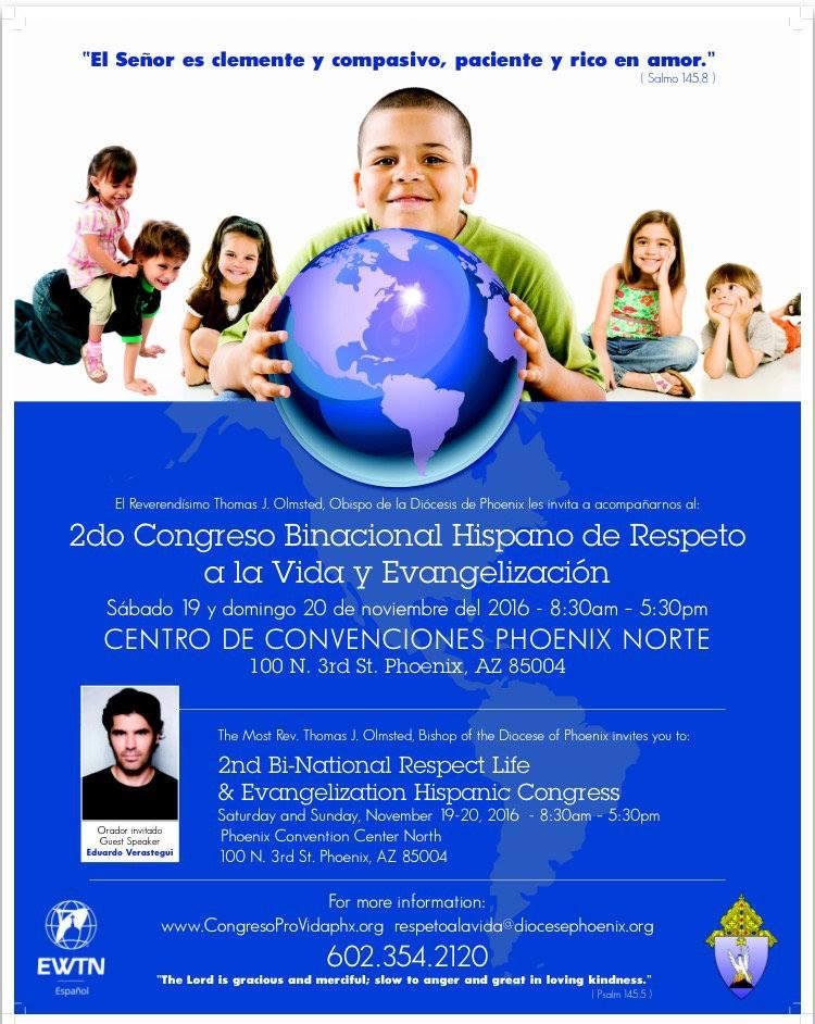 Congreso Binacional Provida Phoenix 2016